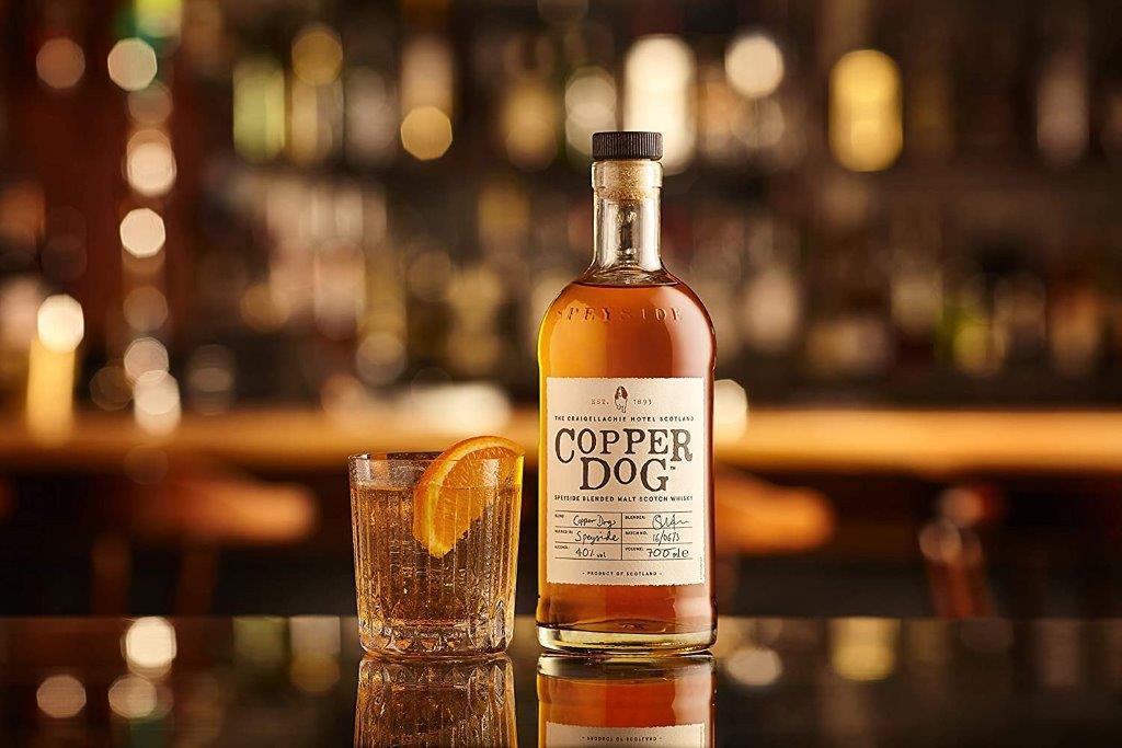 Blended Malt Scotch Whisky Copper Dog
