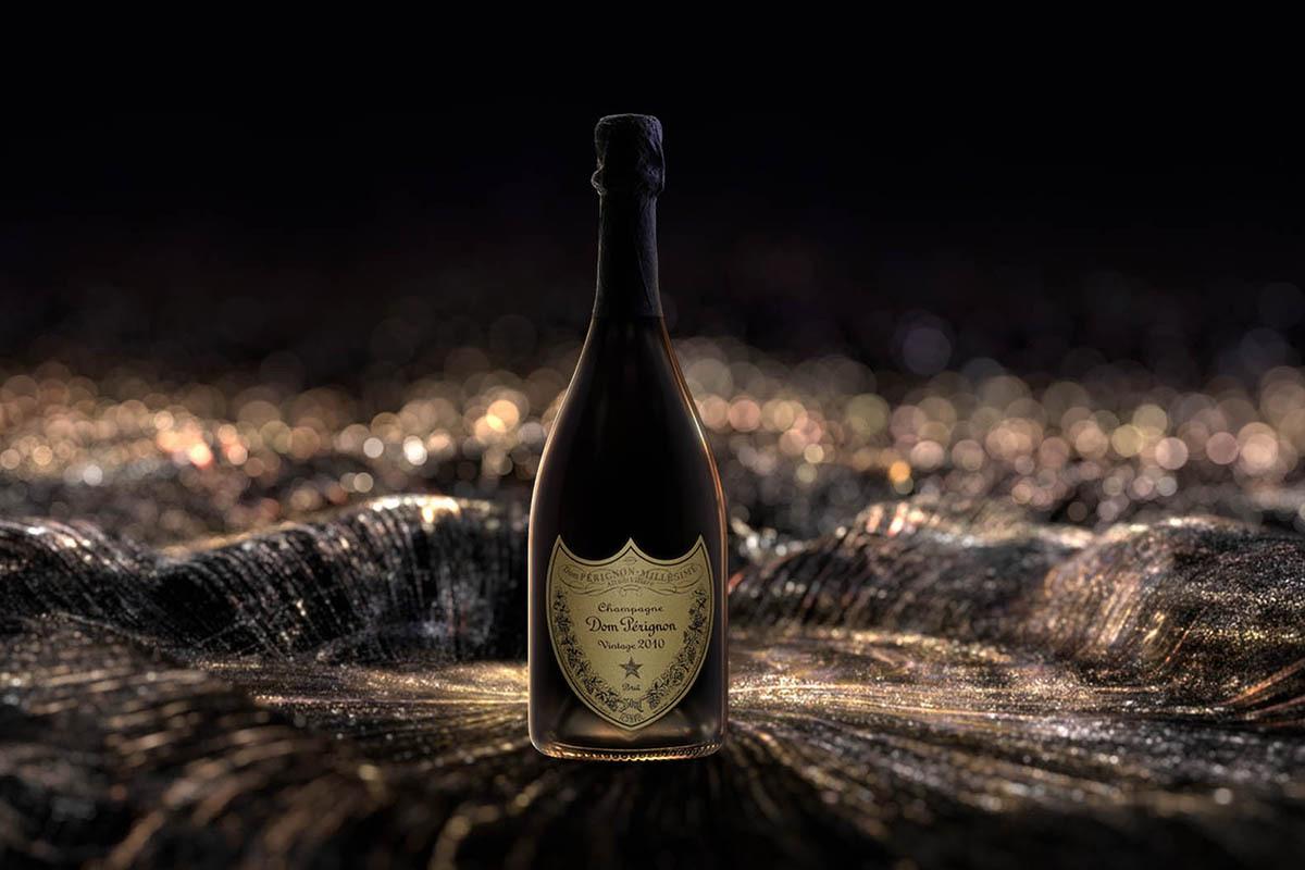 Champagne Dom Perignon Vintage 2010.