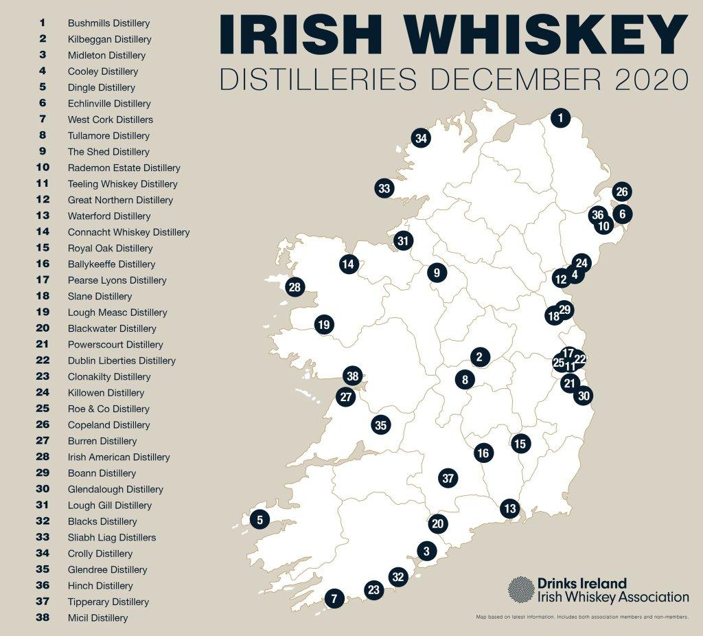 Итоги от Drinks Ireland Irish Whiskey за 10 лет.