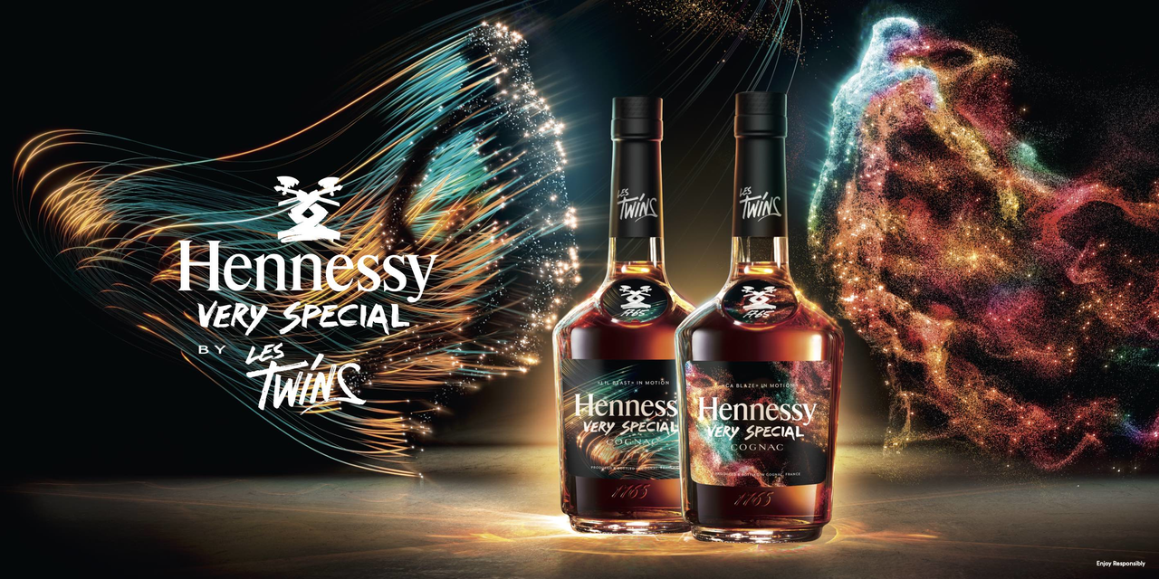 Hennessy Very Special Limited Edition 2021 by Les Twins