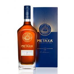 Бренди Metaxa 12 звезд 0,7л. в подарочной упаковке