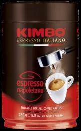 Кофе Молотый Kimbo Espresso Napoletano 250г. Ж/Б