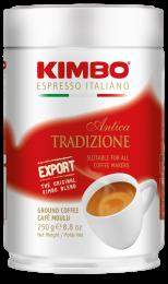 Кофе Молотый Kimbo Antica Tradizione 250 г. Ж/Б