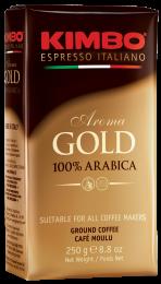 Кофе Молотый Kimbo Aroma Gold 100% Arabica 250 г.