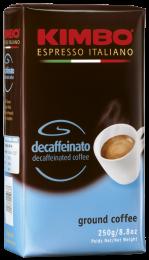 Кофе Молотый Kimbo Decaffeinato 250 г. без кофеина