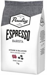 Кофе в зернах Paulig Espresso Barista 1 кг.