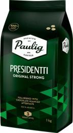 Кофе в зернах Paulig Presidentti Original Strong 1 кг.