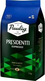 Кофе в зернах Presidentti Espresso 1 кг.