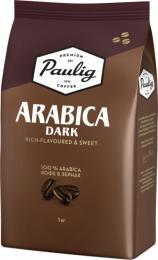Кофе в зернах Paulig Arabica Dark 1 кг.