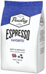 Кофе в зернах Paulig Espresso Favorito 1 кг.