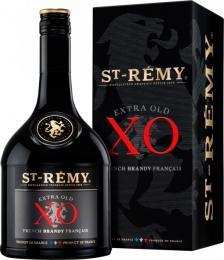 Бренди Saint Remy ХО 0,7 л. 40% в подарочной упаковке