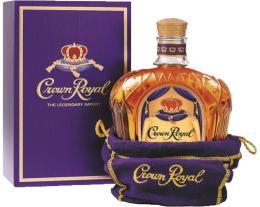 Виски Crown Royal de Luxe 0,75 л. 40% в подарочной упаковке