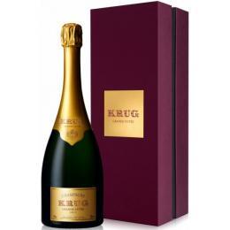 Шампанское Krug Grande Cuvee Brut 0,75 л. белое брют в подарочной упаковке