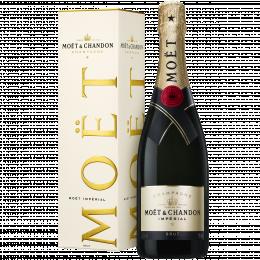 Шампанское Moet & Chandon Brut Imperial 0,75 л. белое брют в подарочной упаковке