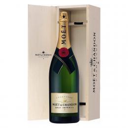 Шампанское Moet & Chandon Brut Imperial 3 л. белое брют в подарочной упаковке