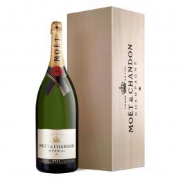 Шампанское Moet & Chandon Brut Imperial 6 л. белое брют в подарочной упаковке