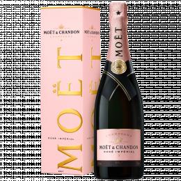 Шампанское Moet & Chandon Brut Imperial Rose 0,75 л. розовое брют в подарочной упаковке