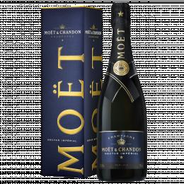 Шампанское Moet & Chandon Nectar Imperial 0,75 л. белое полусухое в подарочной упаковке
