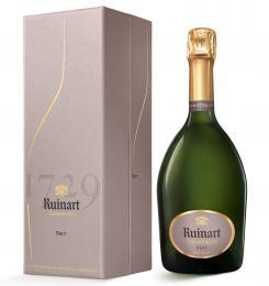 Шампанское R de Ruinart Brut 0,75 л. белое брют в подарочной упаковке