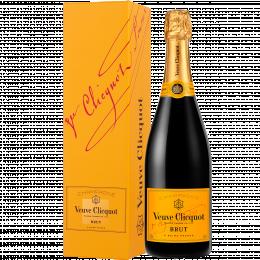 Шампанское Veuve Clicquot Brut 0,75 л. белое брют в подарочной упаковке
