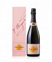 Шампанское Veuve Clicquot Brut Rose 0,75 л. розовое брют в подарочной упаковке