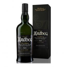 Виски Ardbeg 10 лет выдержки 0,7 л. 46% в подарочной упаковке