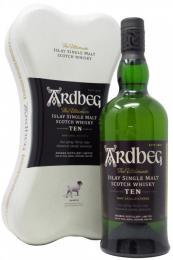 Виски Ardbeg ARDBONE 10 лет  0,7 л. 46% в метал. упаковке