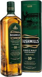 Виски Bushmills 10 лет 0,7л. 40% в подарочной упаковке
