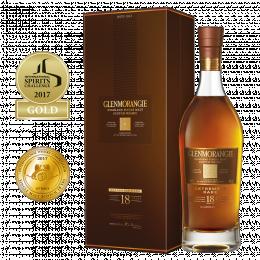 Виски Glenmorangie 18 лет выдержки, 43% 0,7 л. в подарочной упаковке
