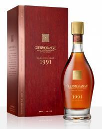 Виски Glenmorangie Grand Vintage 1991 года 0,7 л. 43% в подарочной упаковке