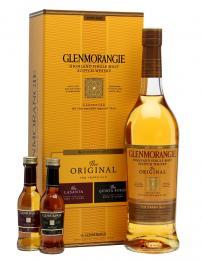 Виски Glenmorangie Original Pioneer Pack 10 лет 0,8 л.  40% в подарочной упаковке