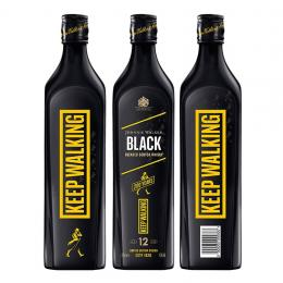 Виски Johnnie Walker Black label Icons Limited Edition 12 лет 0,7 л.
