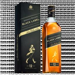 Виски Johnnie Walker Black label 12 лет 0,7л. в подарочной упаковке