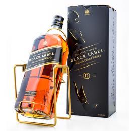Виски Johnnie Walker Black label 12 лет 3 л. в подарочной упаковке