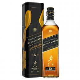 Виски Johnnie Walker Black label 12 лет Limited Edition TIN 0,7 л. в металлической упаковке