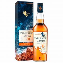 Виски Talisker 10 лет, 45,8%, 0,7 л. в подарочной упаковке