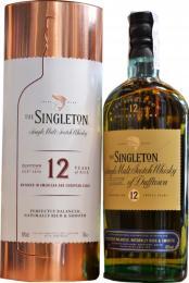 Виски The Singleton of Dufftown 12 лет 0,7 л. 40% в металлическом тубусе