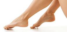 Кислотный пилинг для ног