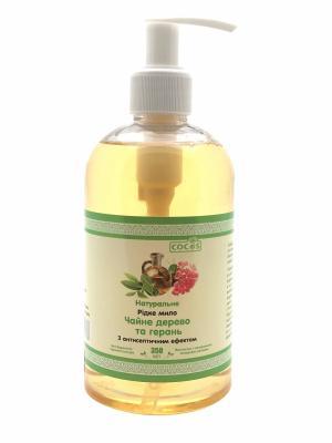 Фото Натуральное жидкое мыло Чайное дерево и герань 350 мл