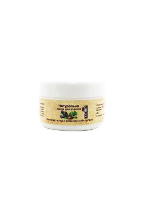 Фото Натуральна маска для волос Уход и восстановление 100 мл