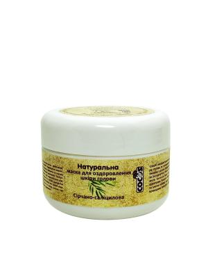Фото Натуральная маска для оздоровления кожи головы Серно Салициловая, 100 гр