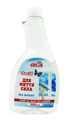 Фото Средство для мытья окон и стекол запаска 500 мл