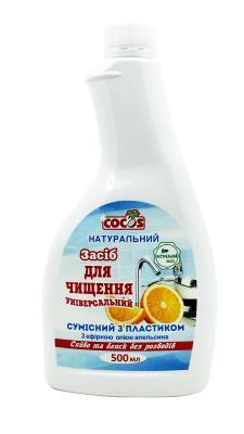 Фото Универсальное средство для чистки с маслом Апельсина запаска 500 мл