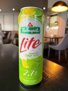 Калнапилис лимон радлер Kalnapilis Lemon