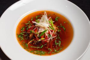 Фирменный мясной суп с телятиной