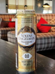 Вольфас Энгельман  лагер безалкогольное Volfas alcohol free