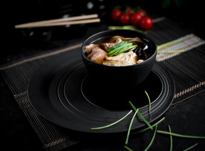 Суп Удон со свининой