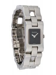 Женские часы Gucci 2305L-22335-BLKSTEEL-BRACELET