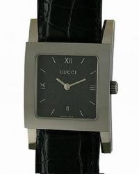 Женские часы Gucci 7900M-17931-BLKSTEELBLK-SIM-ALLIGA