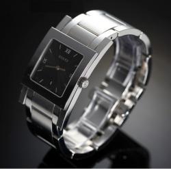 Женские часы Gucci 7905M-17935-BLKSTEELBRACELET